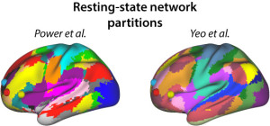 Resting-state network partitions